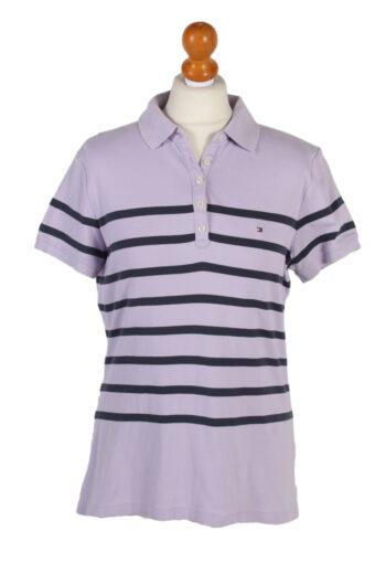 Tommy Hilfiger Polo Shirt 90s Retro Purple L