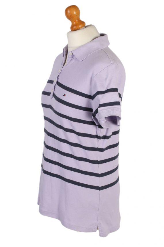 Vintage Tommy Hilfiger Polo Shirt Short Sleeve Tops L Lilac -PT0998-89315