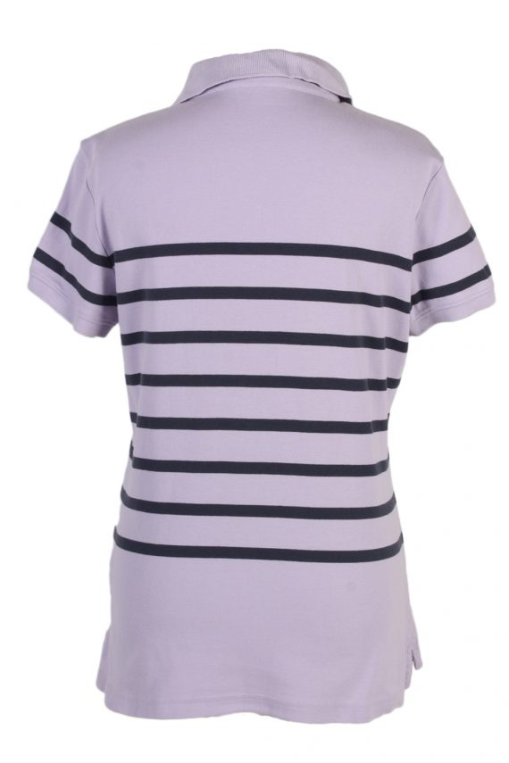 Vintage Tommy Hilfiger Polo Shirt Short Sleeve Tops L Lilac -PT0998-89316