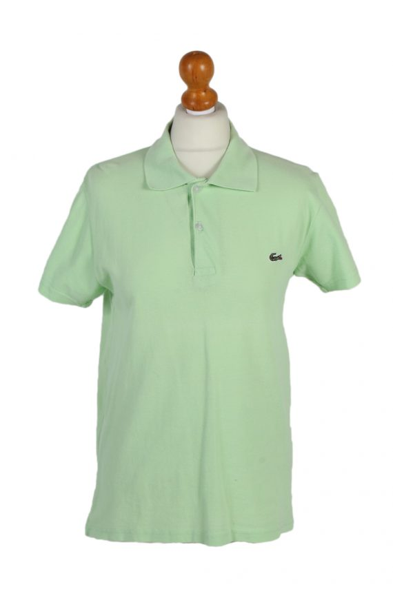 Vintage Lacoste Polo Shirt Short Sleeve Tops M Green -PT1006-0
