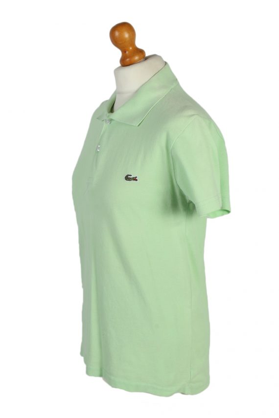 Vintage Lacoste Polo Shirt Short Sleeve Tops M Green -PT1006-89347