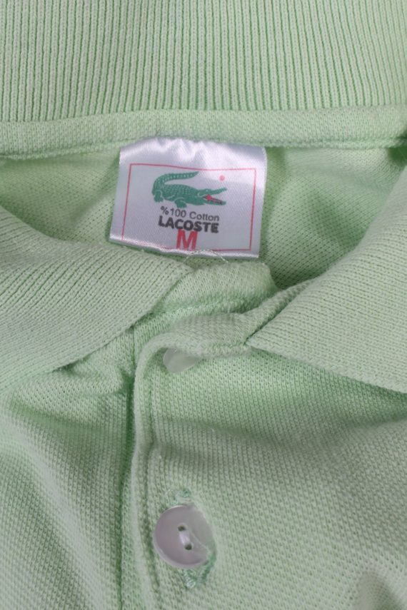Vintage Lacoste Polo Shirt Short Sleeve Tops M Green -PT1006-89349
