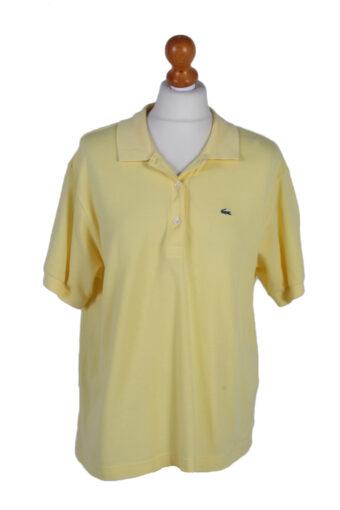 Lacoste Polo Shirt 90s Retro Yellow XL