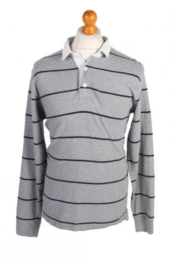 Old Navy Polo Shirt 90s Retro Grey L