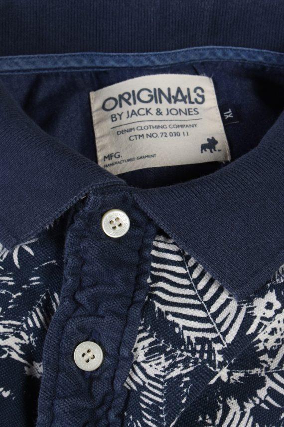 Vintage Jack & Jones Polo Shirt Short Sleeve Tops XL Multi -PT1107-91087