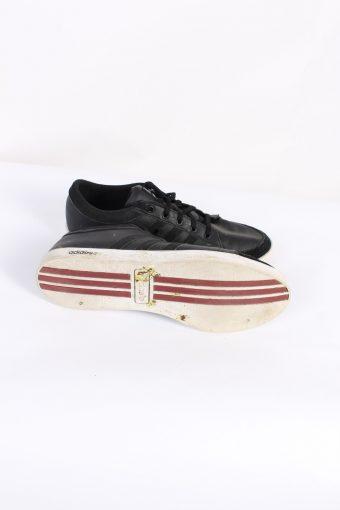 Vintage Adidas NEO Three Stripes Low Tops UK 9.5 Black S479-89779