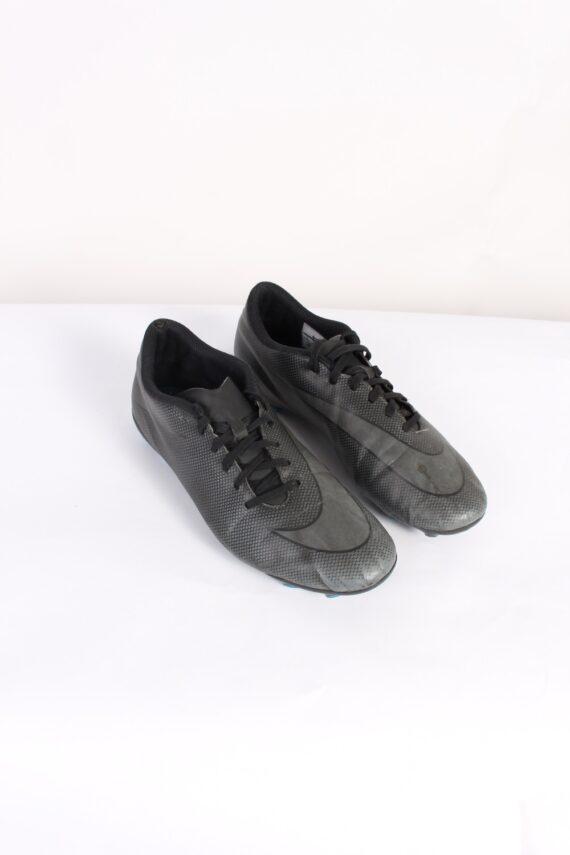 Vintage Nike Running Low Tops UK 8 Black S507-0