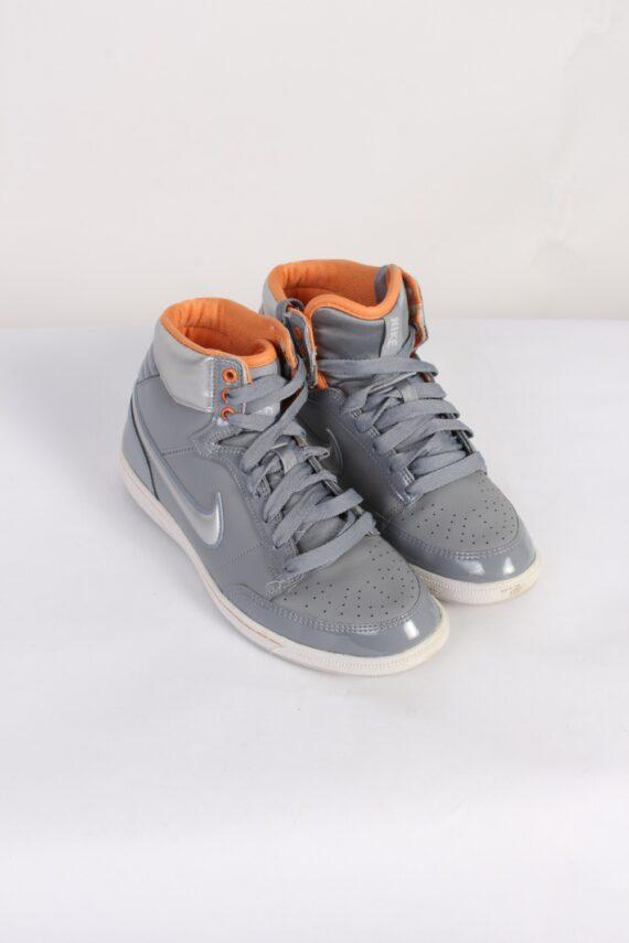 Vintage Nike Basket Profi High Tops UK 5 Grey S526-0