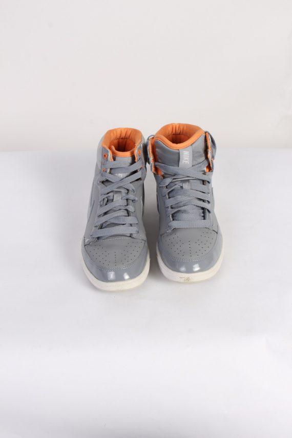 Vintage Nike Basket Profi High Tops UK 5 Grey S526-90039
