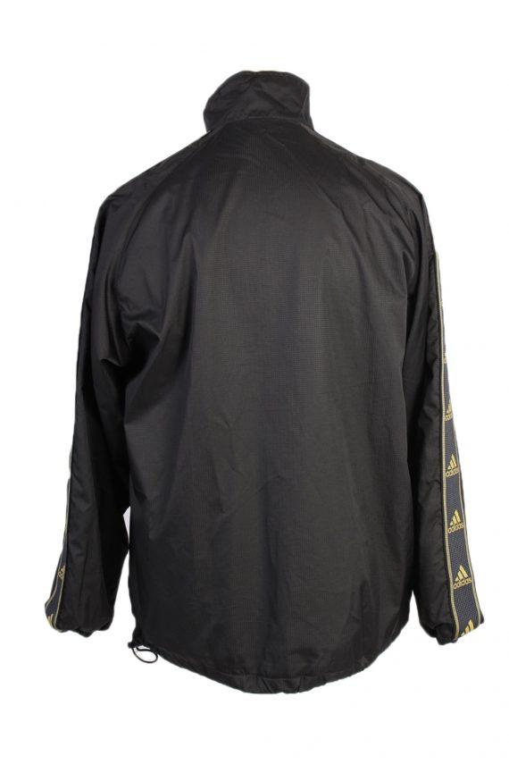 Vintage Adidas Three Stripes Tracksuit Top S Black -SW1985-86794