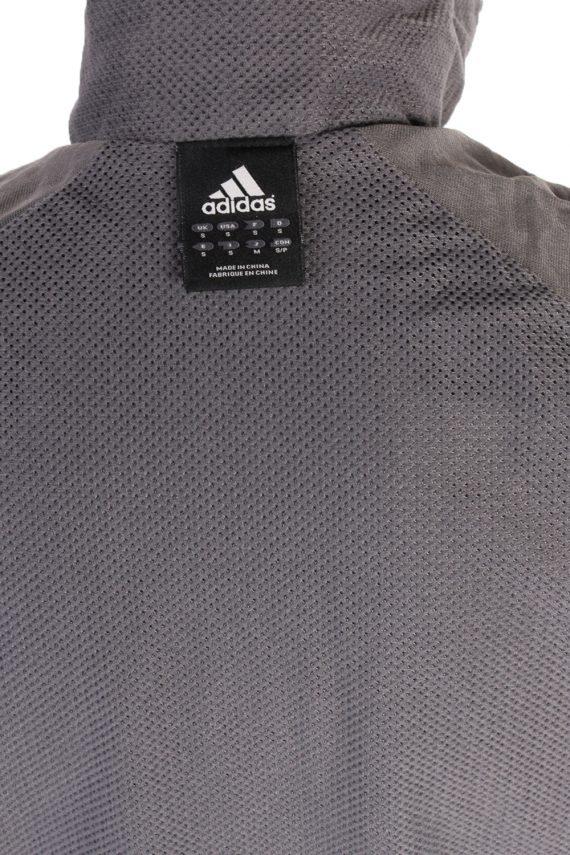 Vintage Adidas Three Stripes Tracksuit Top S Black -SW1985-86796