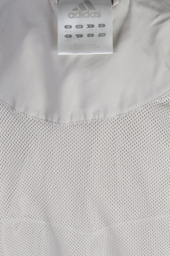 Vintage Adidas Three Stripes Tracksuit Top L Cream -SW1987-86903