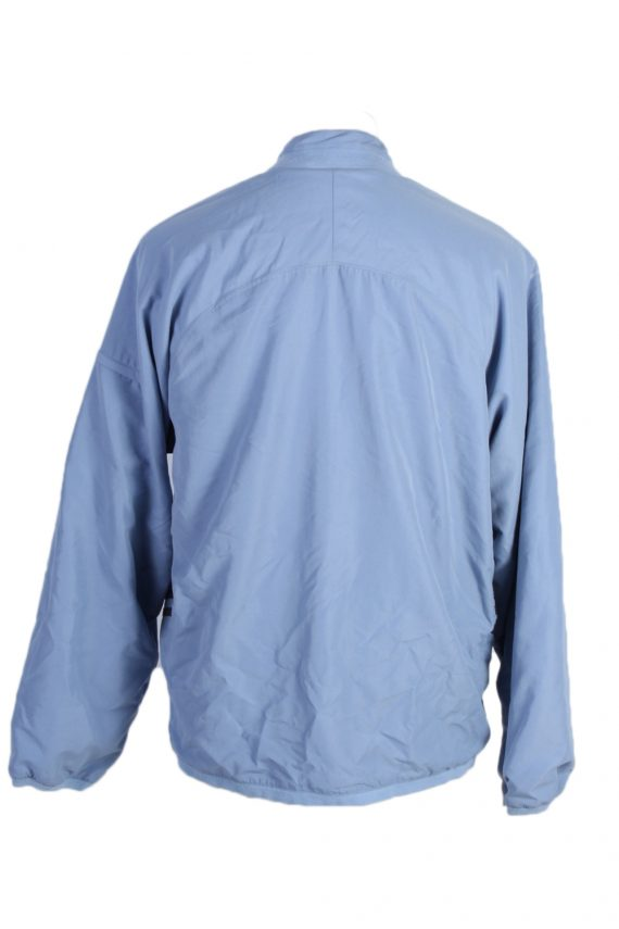 Vintage Adidas Three Stripes Tracksuit Top M Turquoise -SW1992-86926