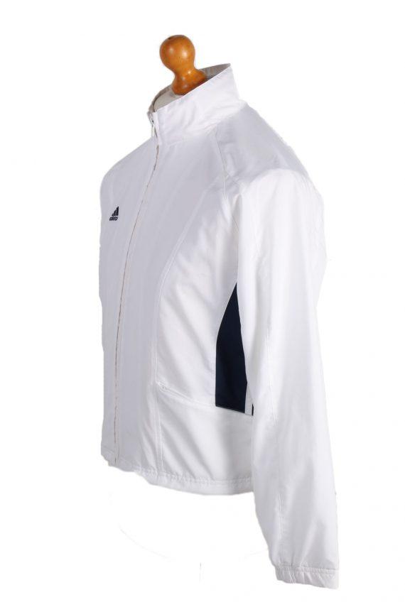 Vintage Adidas Three Stripes Tracksuit Top S White -SW1995-86940