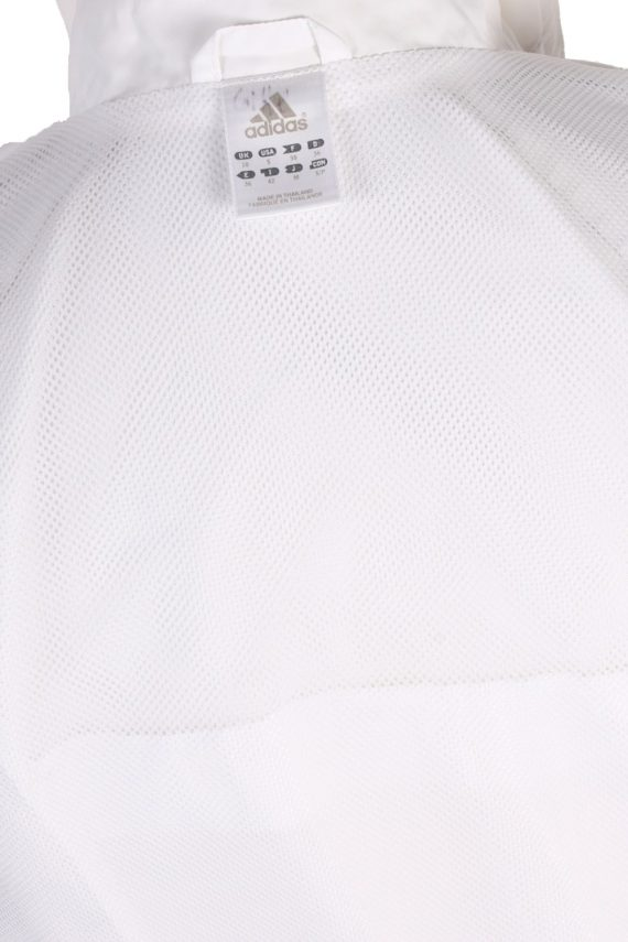 Vintage Adidas Three Stripes Tracksuit Top S White -SW1995-86943
