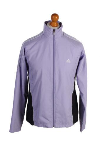 Adidas Three Stripes Track Top Purple L