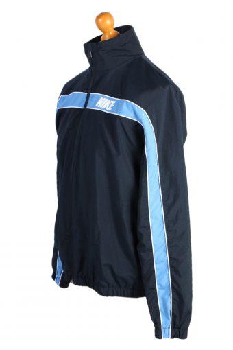 Vintage Nike Sports Tracksuit Top L Navy -SW2010-87015