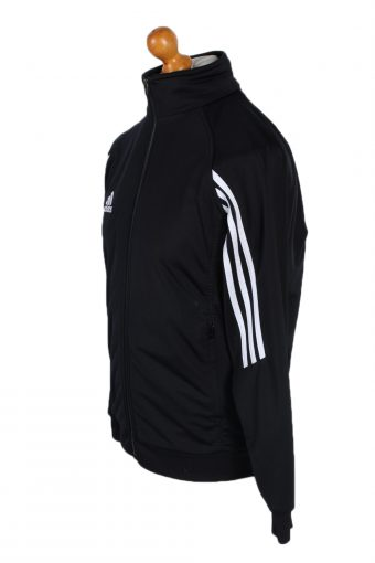 Vintage Adidas Three Stripes Tracksuits M/L Black -SW2022-89045