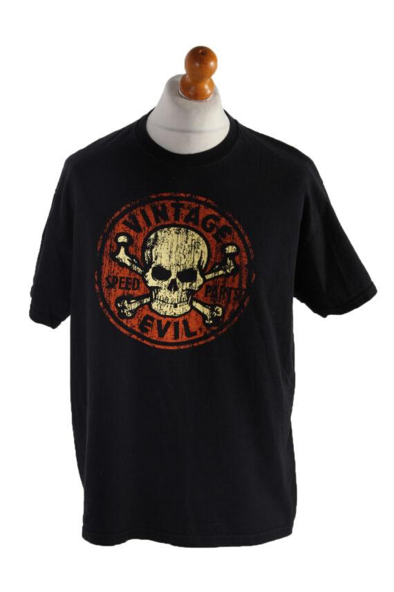 Vintage B&C Short Sleeve Shirt XL Black TS190-0