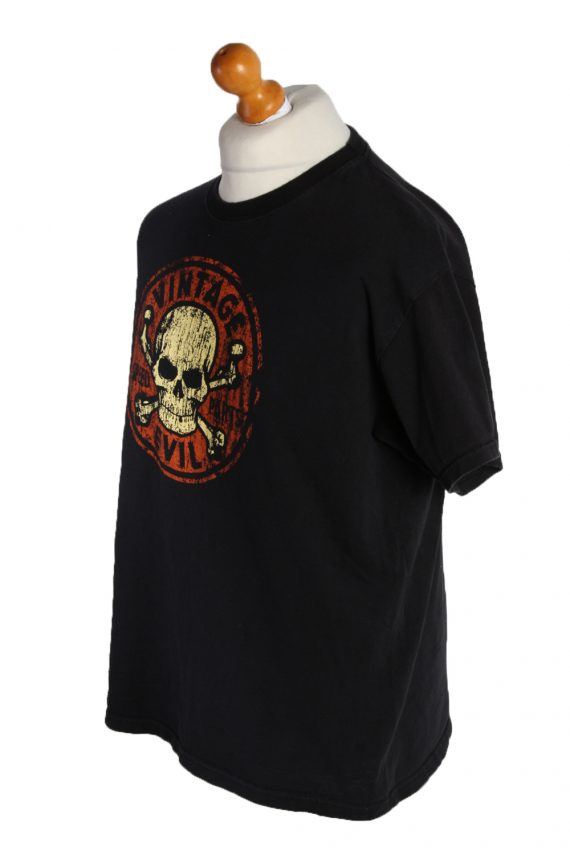 Vintage B&C Short Sleeve Shirt XL Black TS190-90705