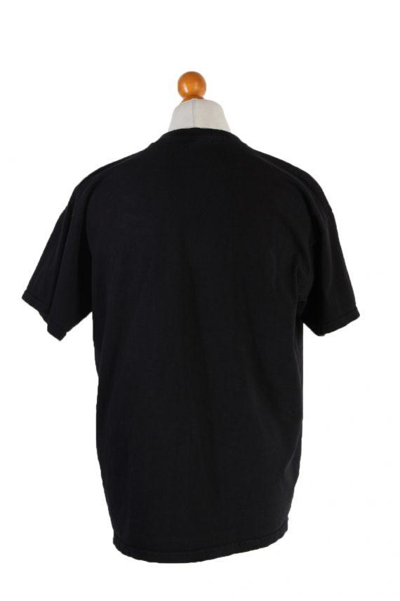 Vintage B&C Short Sleeve Shirt XL Black TS190-90706
