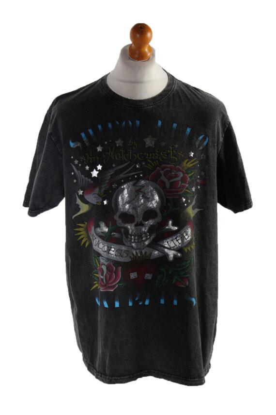 Vintage Blast Short Sleeve Shirt XL Black TS194-0