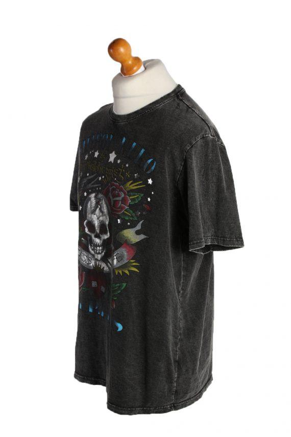 Vintage Blast Short Sleeve Shirt XL Black TS194-90733