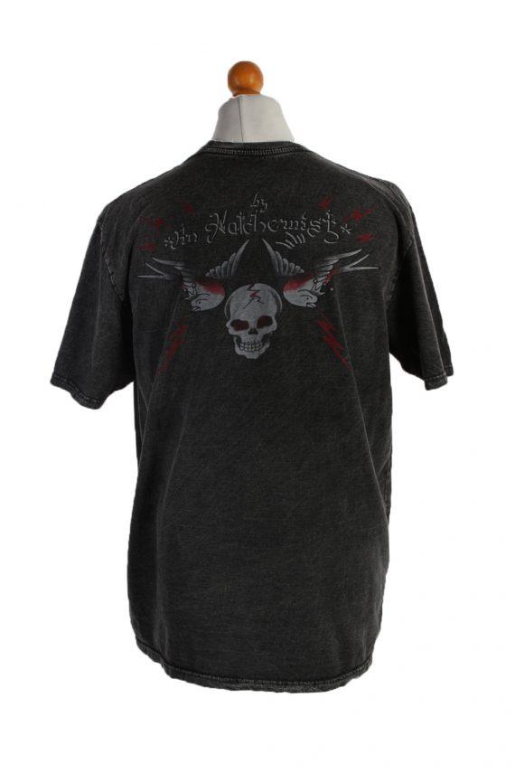 Vintage Blast Short Sleeve Shirt XL Black TS194-90734