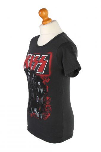 Vintage Screen Stars Short Sleeve Shirt M Black TS205-90650