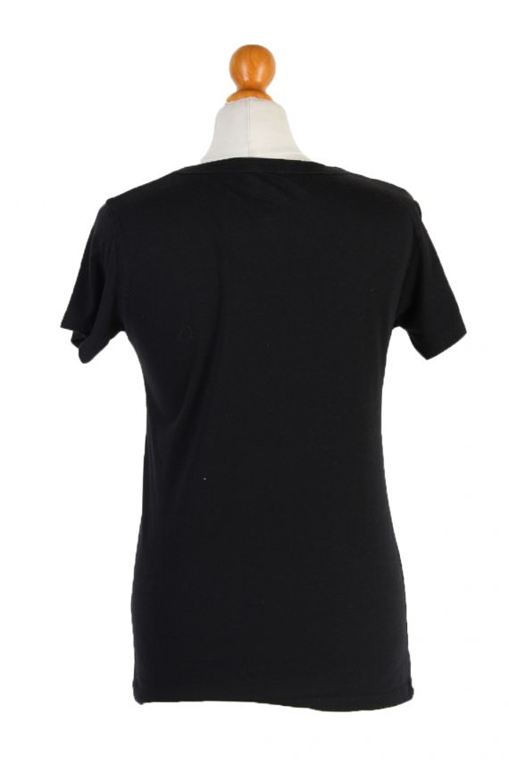 Vintage FunShirt Short Sleeve Shirt L Black TS206-0