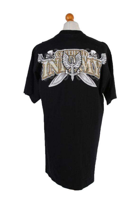 Vintage Fuya Short Sleeve Shirt XXL Black TS216-90942
