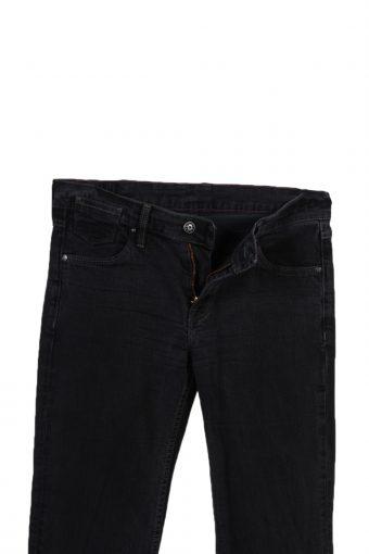 Vintage Mustang Stone Washed Denim Jeans W28 L32 Black J3785-92537
