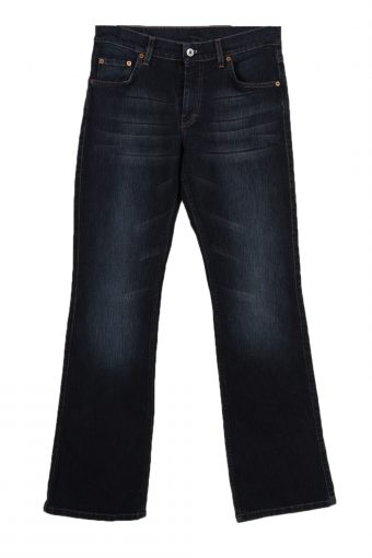 Mustang Stone Washed Faded Denim Jeans Retro Women W30 L34