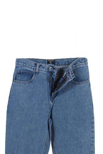 Vintage Milkon X Designer Hem Stone Washed Denim Jeans W27 L29 Blue J3793-92569