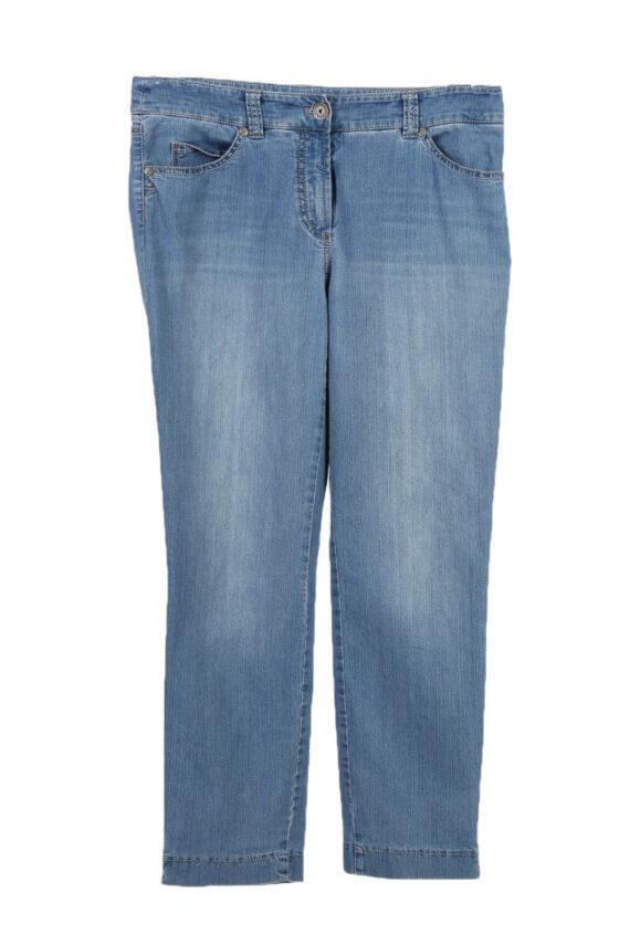 Vintage Gerrey Weber Edition Stone Washed Denim Jeans W30 L25 Blue J3794-0