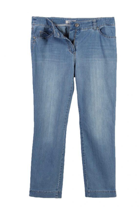 Vintage Gerrey Weber Edition Stone Washed Denim Jeans W30 L25 Blue J3794-92573