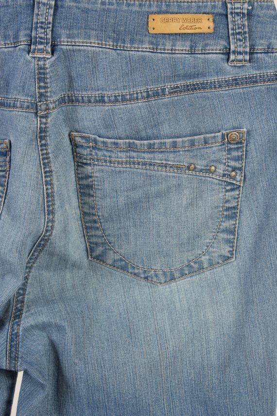 Vintage Gerrey Weber Edition Stone Washed Denim Jeans W30 L25 Blue J3794-92575