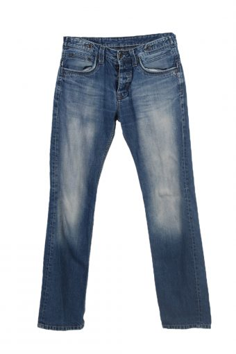Kaporal Straight Leg Stone Washed Jeans Faded MEN W31 L33