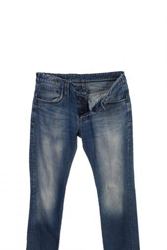 Vintage Kaporal Straight Leg Stone Washed Jeans W31 L33 Blue J3844-93719