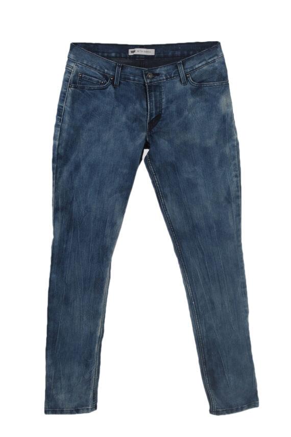 Vintage Levis 524 Too Superlow Black Label Jeans W30 L32 Navy J3847-0
