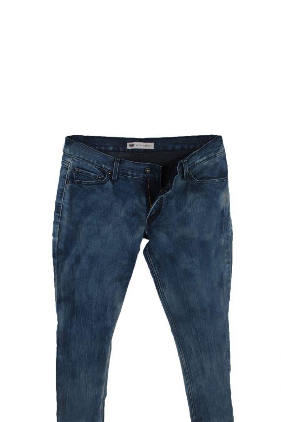 Vintage Levis 524 Too Superlow Black Label Jeans W30 L32 Navy J3847-93731