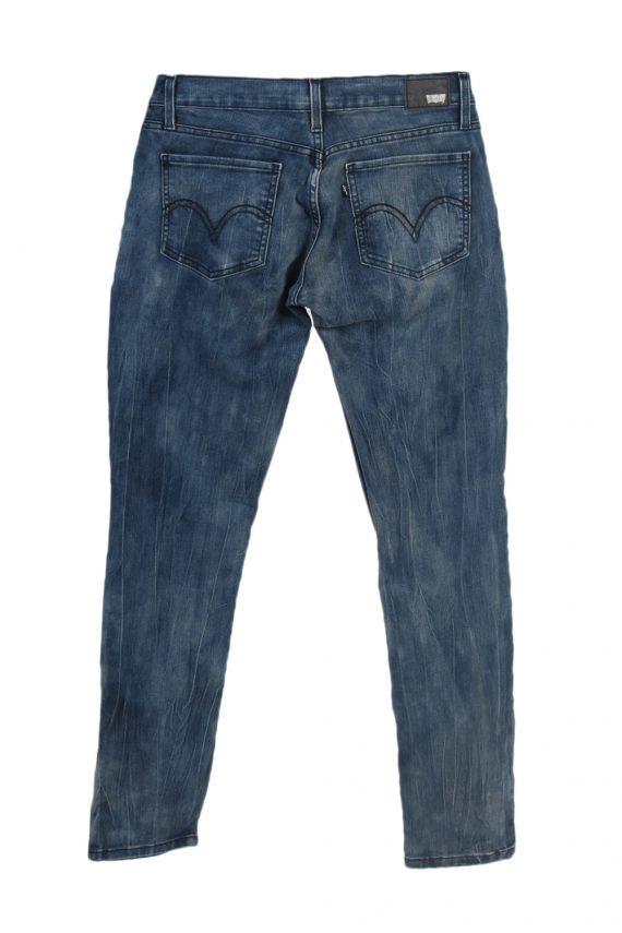 Vintage Levis 524 Too Superlow Black Label Jeans W30 L32 Navy J3847-93732