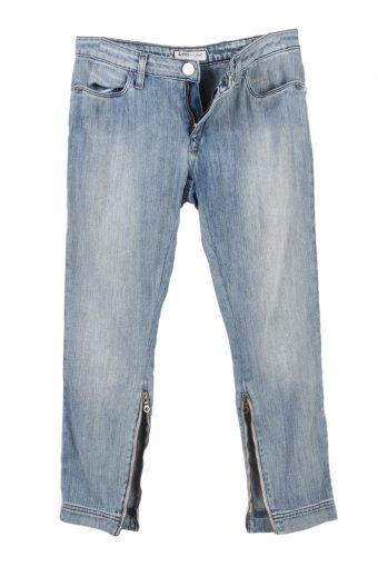 Vintage Lee Slim/Skinny Stone Washed Denim Jeans W28 L25 Ice Blue J3895-94628