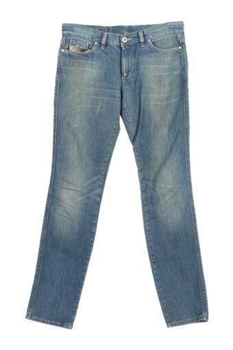 Diesel Mid Waist Slim/Skinny Denim Jeans Faded 90's W28 L31