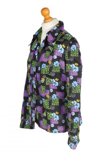 Vintage Unbranded Shirt Long Sleeve M Multi LB194-95220