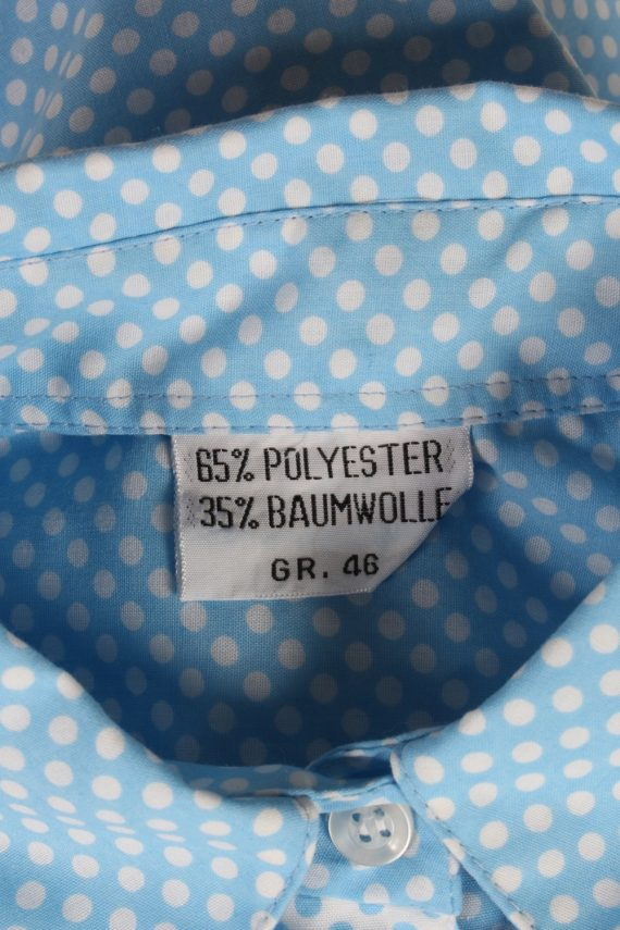 Vintage Unbranded Blouses Sleeveless XL Turquoise LB201-95250
