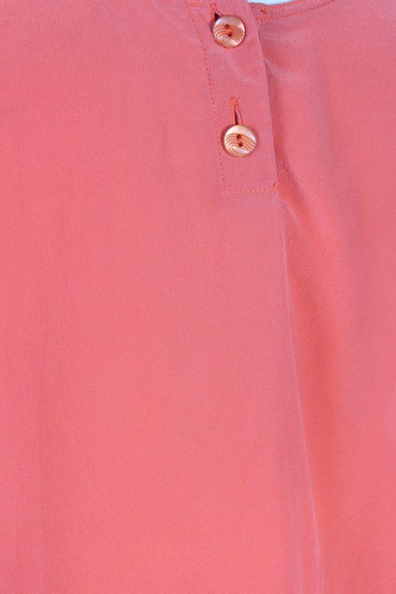 Vintage Unbranded Blouses Sleeveless L Coral LB205-95266