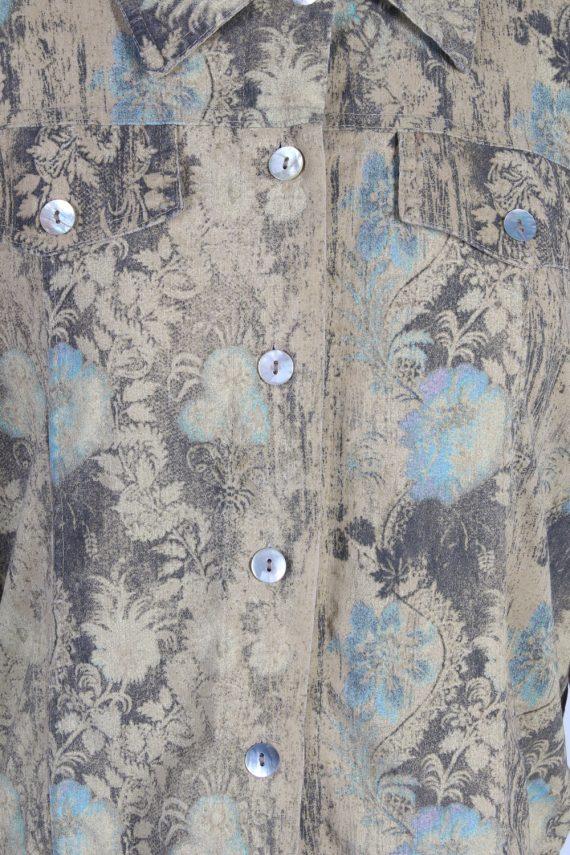 Vintage Unbranded Shirt Long Sleeve XL Multi LB220-95664