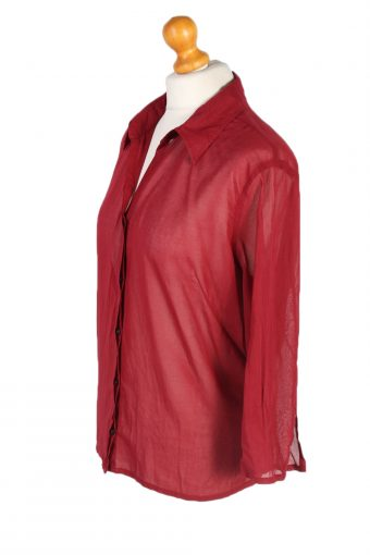 Vintage Eddie Bauer Shirt Long Sleeve XXL Red LB221-95666