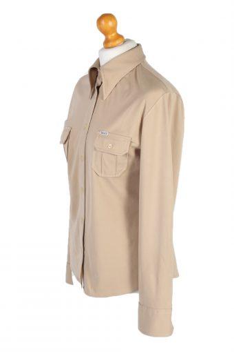 Vintage Sixty Shirt Long Sleeve M Cream LB229-95698
